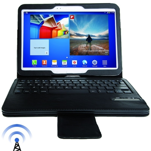 Removable Magnet Bluetooth 3.0 Wireless Keyboard Case for Samsung Galaxy Tab 3 (10.1) / GT-P5200 Operating Distance 10m(Black)<br><br>Aliexpress