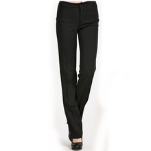 Work wear trousers pants slim western-style trousers work pants plus size formal straight pants(China (Mainland))