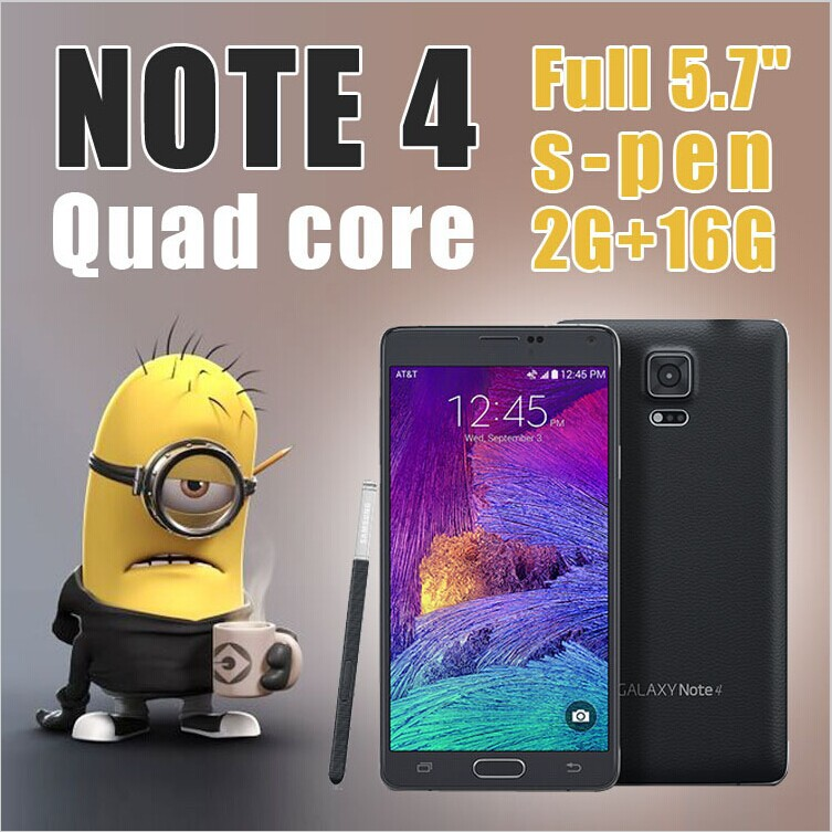NOTE4 Real 5.7 inch Phone MTK6582 Quad core 2GB RAM N910F phone WCDMA Mobile Android 4.4.2 Cell Phones - HAIXIAN INNOVATION TECHLOGY CO.,LIMITED store