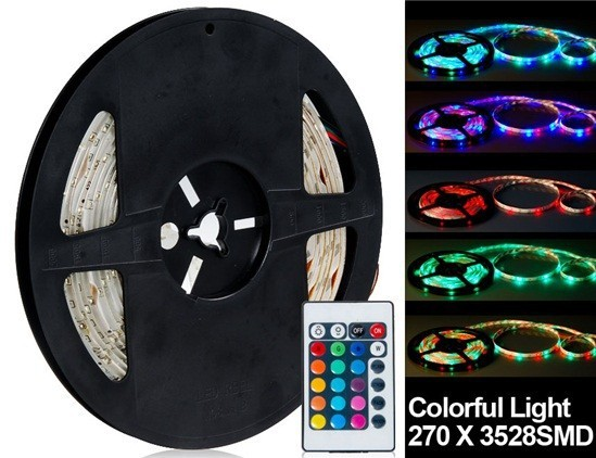 270 x 3528SMD Colorful Light Flexible LED Lighting Strips(China (Mainland))