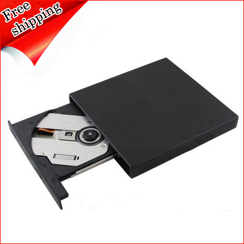 External USB DVD Player for Asus Eee PC X101CH 1025C 1225B 1005HA 1000H Netbook 8X DVD-ROM Combo 24X CD-RW Writer Optical Drive()