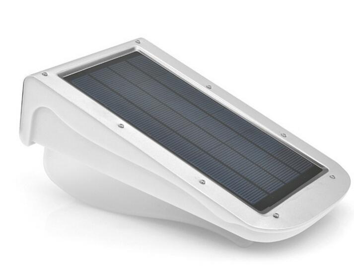 PIR Infrared Motion Sensor LED Lamp Solar Powered Wall Lamp 3W Outdoor LED Lighting Garden Path Security Emergency Spot Light