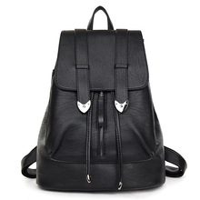 Buy DIZHIGE Brand Women's Leather Backpacks Teenage Girls Travel Backpack Vintage Mochila 2017 Female School Bag Back Packs sac for $23.79 in AliExpress store