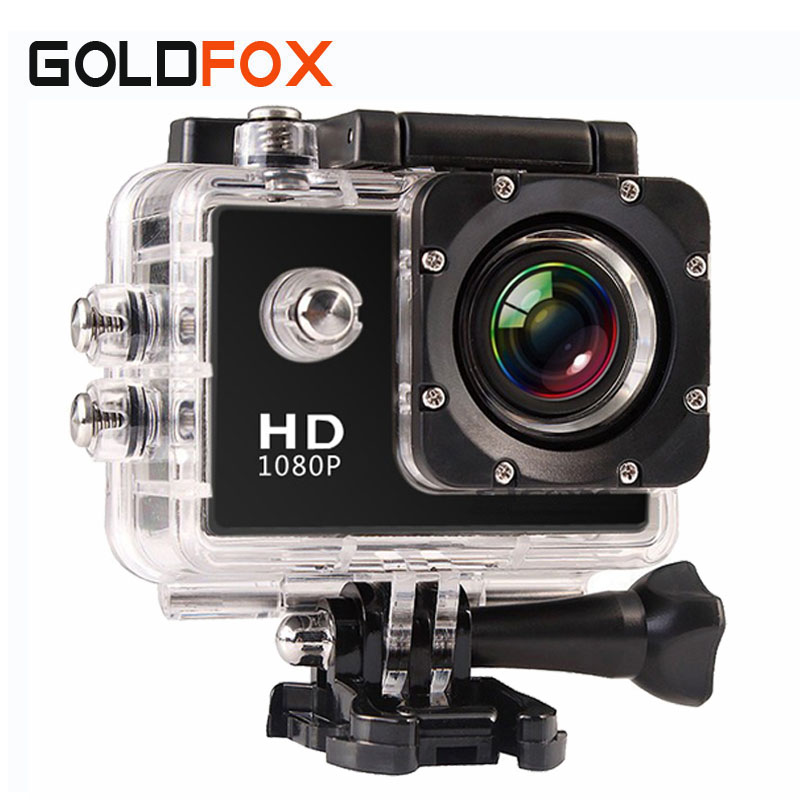 2016 New 720P HD Digital Photo Camera 30M Go Waterproof Pro Video Cameras Extreme Bike Helmet Cam Dvr with Retail Packing(China (Mainland))