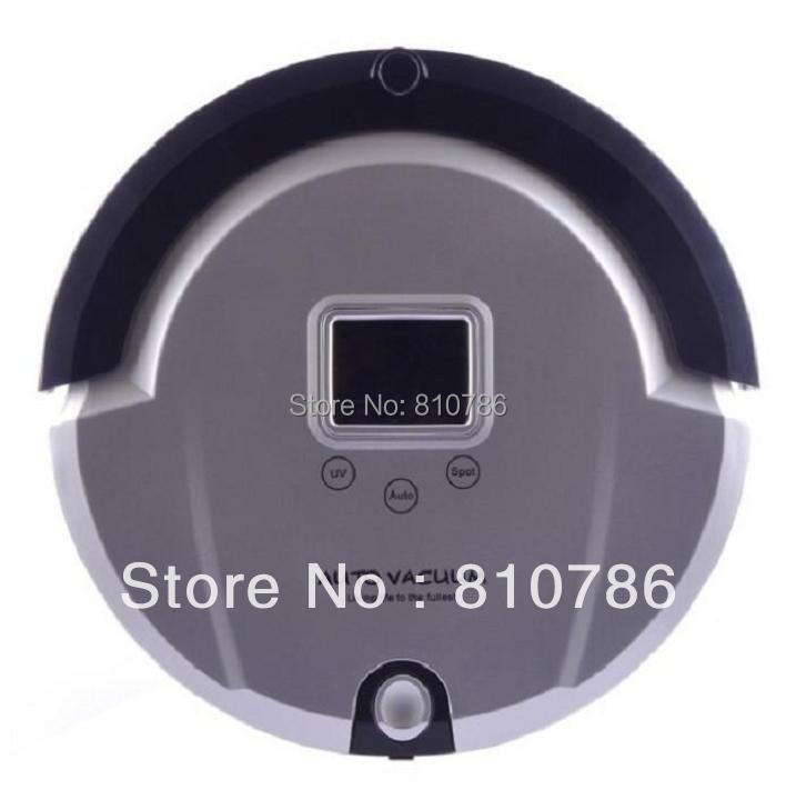 The Best And Newest Robot Vacuum Cleaner+ Low Nosie +more than 120 minutes working time(China (Mainland))