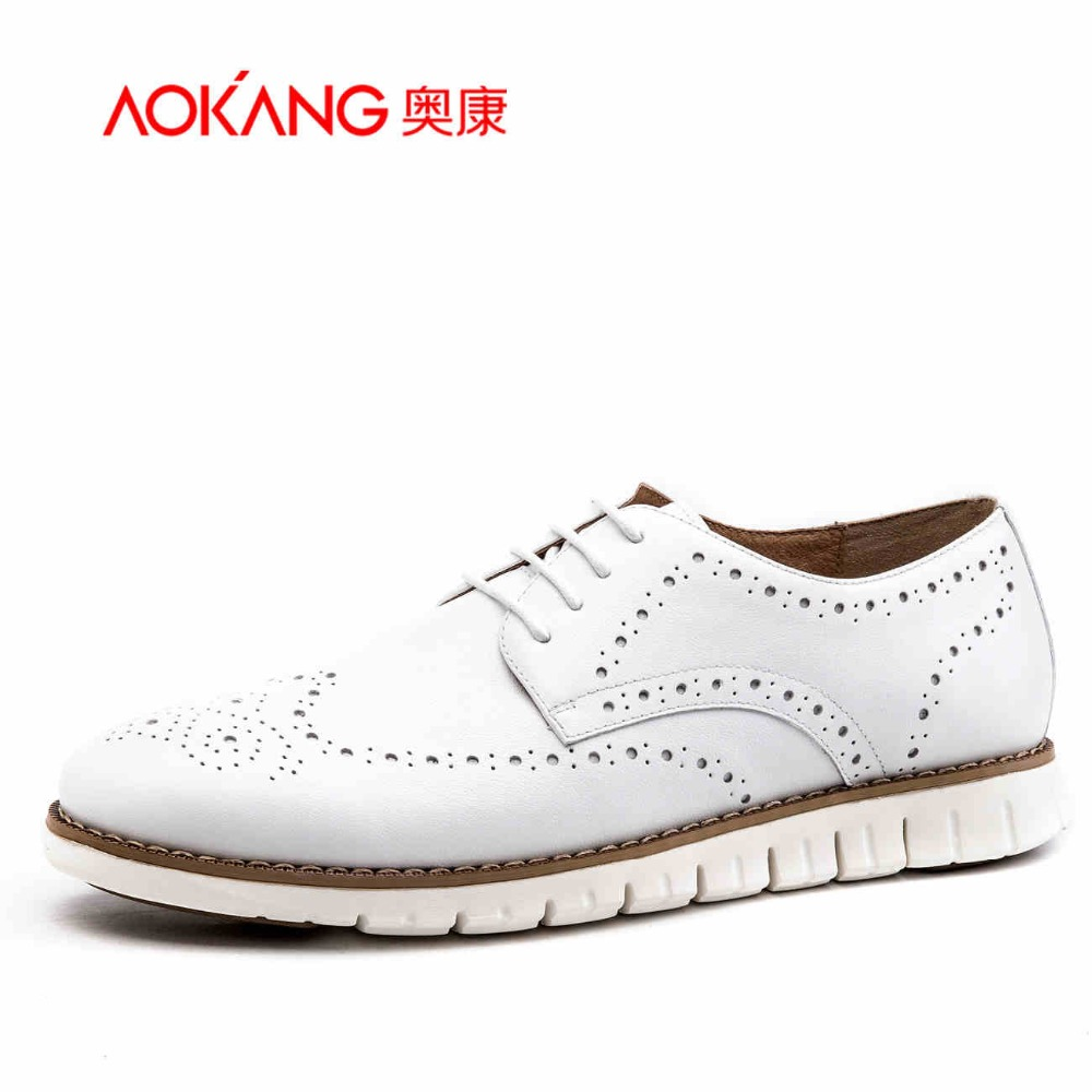 Фотография Aokang 2016 Summer New Arrival Genuine Leather Men
