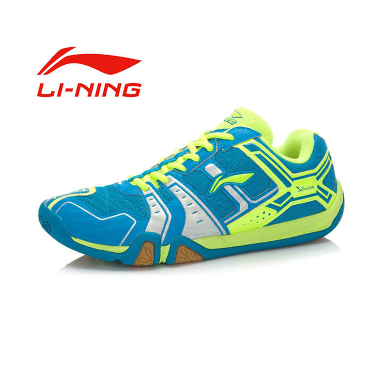 Li-Ning Men's Portable Wear-Resisting Badminton Shoes Li Ning Anti-Slippery Damping Lace-Up Outdoor Sports Sneakers(China (Mainland))