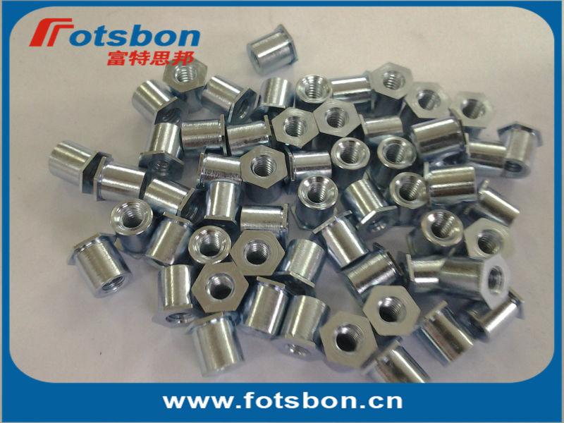 TSOA-256-500 Threaded standoffs for sheets thin as 0.25/ 0.63mm,PEM standard,AL6061,<br><br>Aliexpress