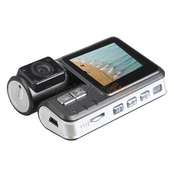 ONLY I1000 2 Inch Double Camera HD Car DVR Video Recorder 120 Degree Wide Angle(China (Mainland))