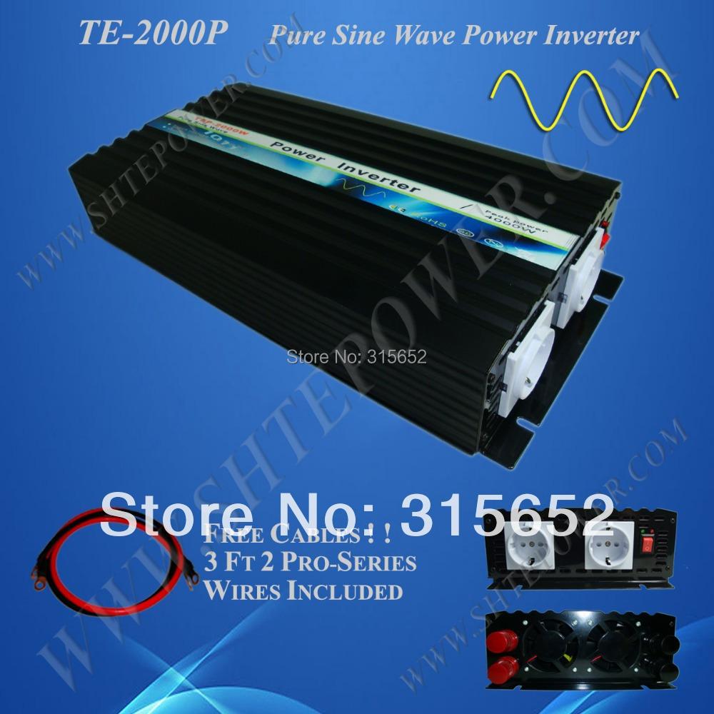 2000 Watt Off Grid Pure Sine Wave Inverter 12V 110V(China (Mainland))