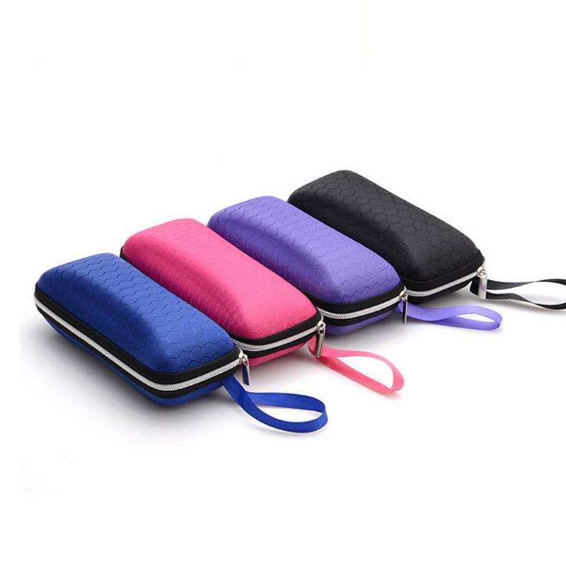 Optical Glasses Accessories : PU fiber zipper sunglasses case box sun glasses case ...