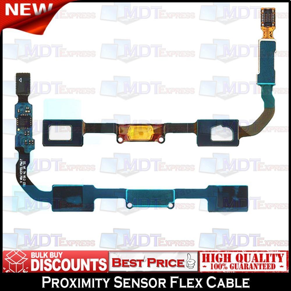 New! Original Menu Home Button Proximity Light Sensor Flex Cable Ribbon for Samsung Galaxy S4 SIV I9500 I9505 I337 I535 M919(China (Mainland))