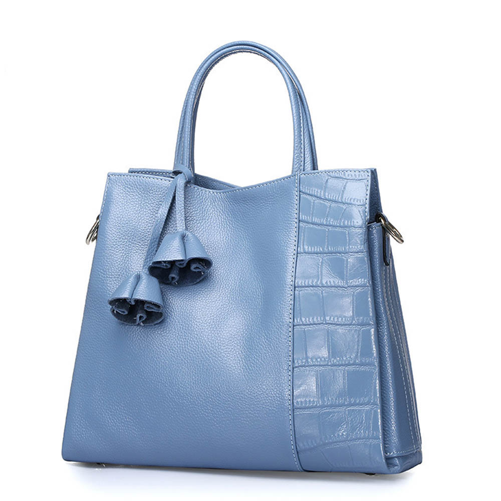 Factory outlet handbag fashion women famous brand bags luxury corocodile genuine cowhide leather ladies tote messegner bags(China (Mainland))