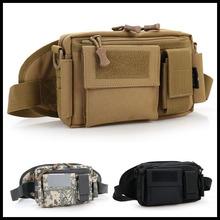 Waist bag military equipment tactical bag camping outdoor wallet Waist Packs Mobile Phone Case Waterproof Nylon Material(China (Mainland))