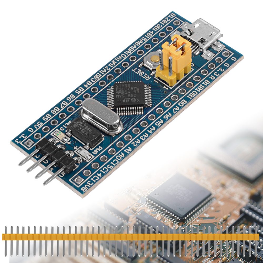 GOOD STM32F103C8T6 ARM STM32 System Development Board 40 Pin For Arduino TE435+(China (Mainland))