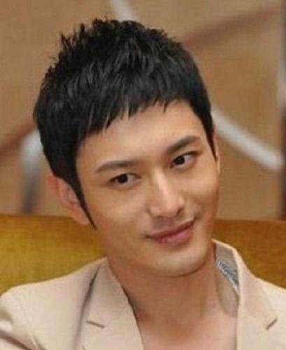 Hot heat resistant Kanekalon Party hair SHIPPINGnew Korean short Black men's male hair Cosplay wigs(China (Mainland))