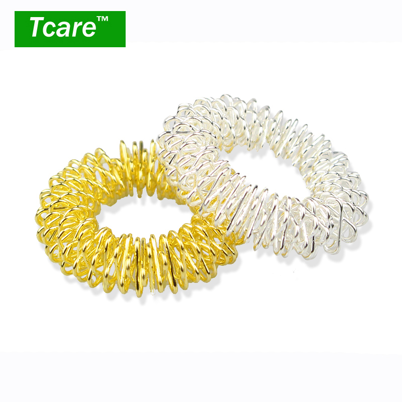 * Tcare 6Pcs/Lot Hot Sale Finger Massage Ring Acupuncture Ring Health Care Body Massage Finger Massage & Relaxation Health Care