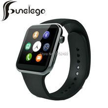 Funelego 1.54inch Touch Screen Watch Android Wear SmartWatch Waterproof Sport Men Bluetooth Wrist Watches Cell Phone smart Clock(China (Mainland))