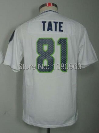 Free shipping Kids Golden Tate Jersey,Stitching kids Seattle Golden Tate Sport Jersey Blue,Grey mix order drop shipping(China (Mainland))