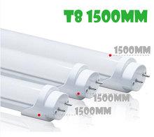 Wholesales! tube led t8 1500mm 26w 3014 smd AC110V 120V 220V 100-240v for indoor light/lamp send via dhl fedex etc 25pcs/lot(China (Mainland))