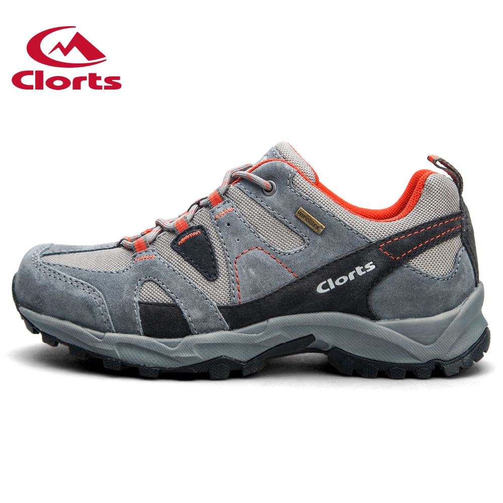 New Clorts Hiking Shoes Man Waterproof Shoes Suede Leather Athletic Shoes Trekking Shoes for Hiking HKL-828A(China (Mainland))