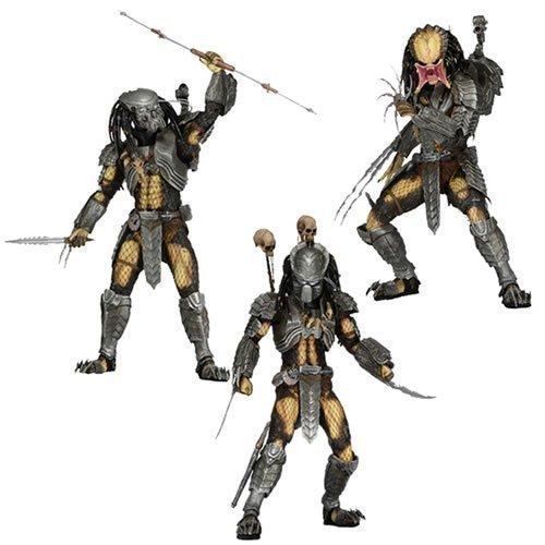 3pcs AVP Scar + Chopper + Celtic Predators Sci-Fi Film  Alien VS Predator NECA 18cm Action Figure <br><br>Aliexpress