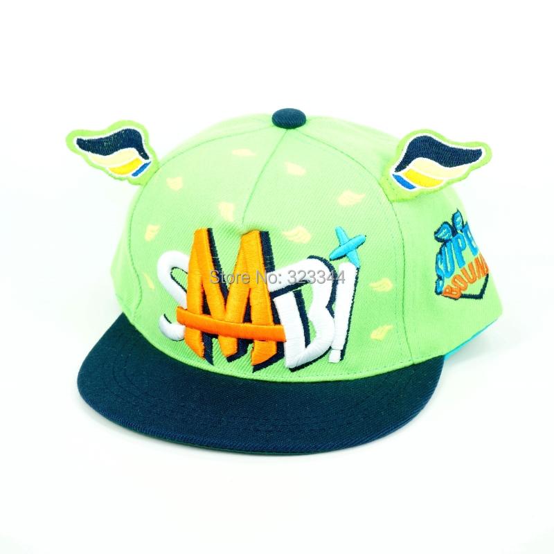 2015 Fashion Kids snapbacks Cotton Caps Boys Baseball Summer Jean Hats Children Girls cap Baby Hat gorras - Laura Z's store