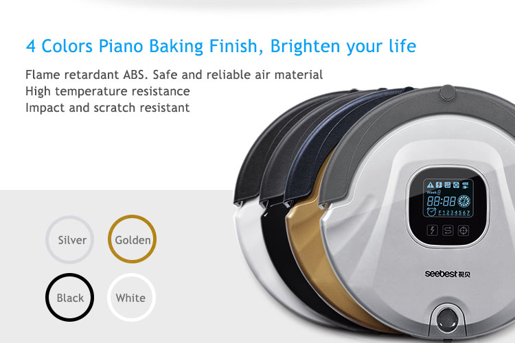 2016year very hot best sale!As Seen On TV Robot Vacuum Cleaner Anti Collision Anti Fall,LCD Screen,HEPA Filter,Auto Clean(China (Mainland))