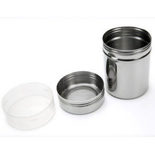May New Arrivals Stainless Steel Power Bottle Cocoa Powder Coffee Seasoning Bottle(China (Mainland))