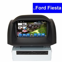 Touch Screen Android Car Stereo for Ford Fiesta DVD Player with GPS Navigation Radio TV Bluetooth 3G WIFI AUX CD MP3 USB SD