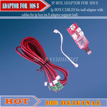 Ip BOX CABLES for ios8 adapter with cables for ip box ios 8 adaptor support ios8.xx(China (Mainland))