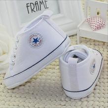 Nuovo arrivo del bambino scarpe di tela scarpe scarpe bambino infantili bebe scarpe primi camminatori(China (Mainland))