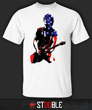 Buy Bruce Springsteen USA Flag T-Shirt Direct Stockist Men Brand Clothihng Top Fashion Mens T Shirt 100%Cotton S-XXL for $12.99 in AliExpress store