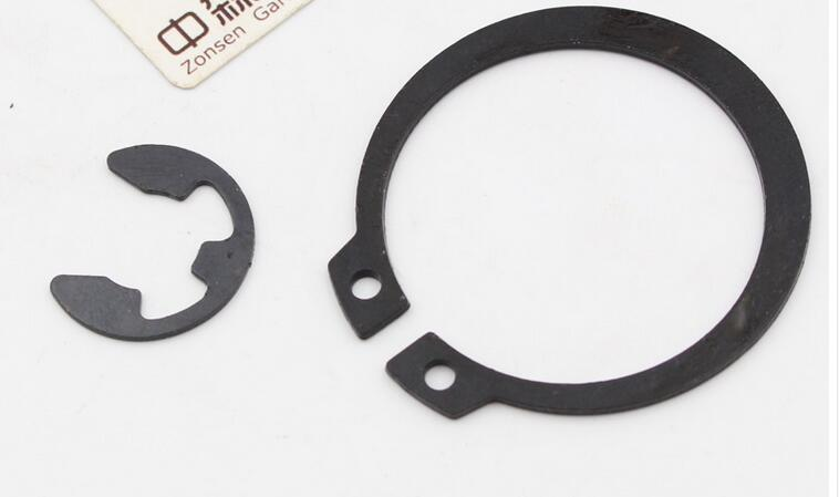 Free shipping 2pcs set of sprocket circlip for MS 380 381 chainsaw aftermarket replacement good matching