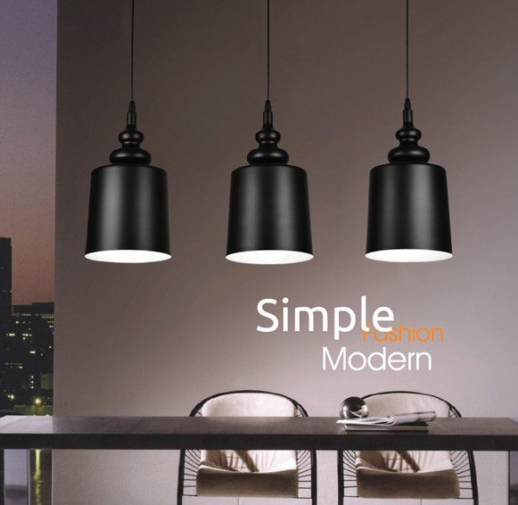 Nordic Simple IronDroplight Modern LED Pendant Light Fixtures For Living Dining Room Hanging Lamp Indoor Lighting Lampara<br>