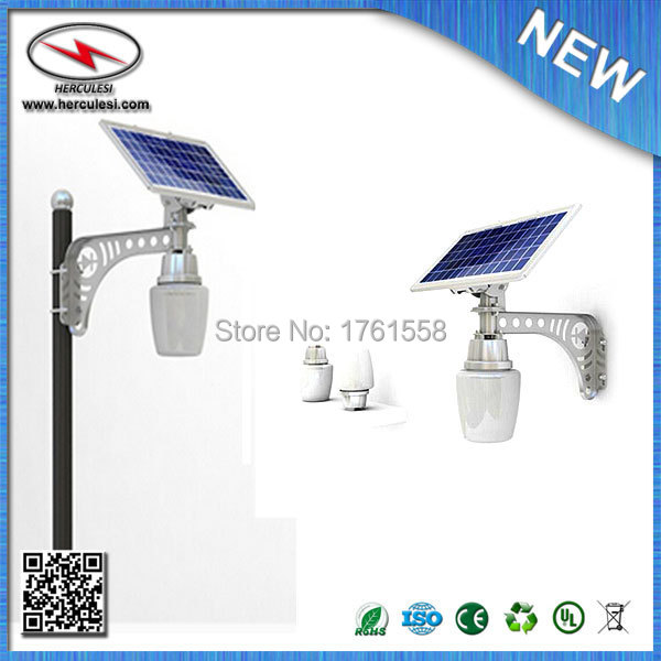 DHL SHIPPING 2pcs/lot mini solar powered led light 6W + 10W solar panel LiFePO4 3V 10Ah battery wholesale and retail(China (Mainland))