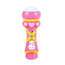 2015 New Arrvial Girls Boys Children Toy Kids Microphone Mic Karaoke Singing Funny Music Toys Hot Pink High quanlity Wholesales(China (Mainland))