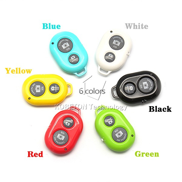 Selfie Remote Control for Android 4.1 Above Smartphones Bluetooth wireless Remote Shutter Self-timer Long Distance Multi Colors<br><br>Aliexpress