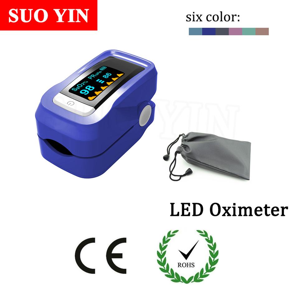 NEW Hot sales Health care CE Fingertip Pulse Oximeter Portable finger OLED oximetro de dedo pulsioximetro Case Can be customized