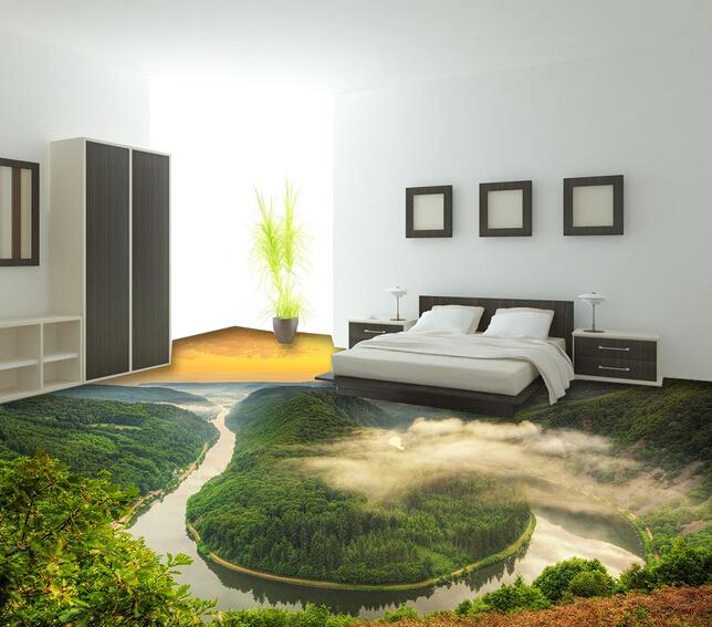 Aliexpress Com Buy European Style 3d Floor Tiles Mural: Newest Design Best 3d Mural Flooring Ceramic Tile Nature