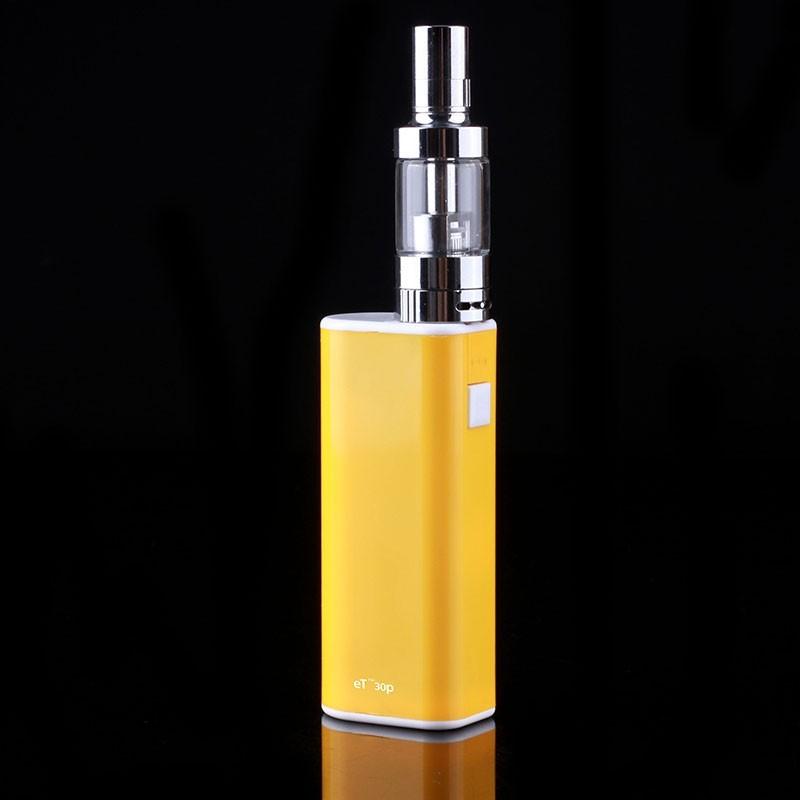 ถูก 10ชิ้น/ล็อตร้อนขายบุหรี่อิเล็กทรอนิกส์มอระกู่Et 30จุดvape smokบุหรี่อิเล็กทรอนิกส์ชุดเริ่มต้นVaporizerถังย่อย30วัตต์กล่องMods