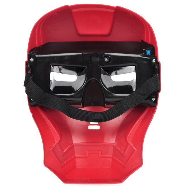 Iron Man Mask Halloween Cosplay Masquerade Party Adult Accessory