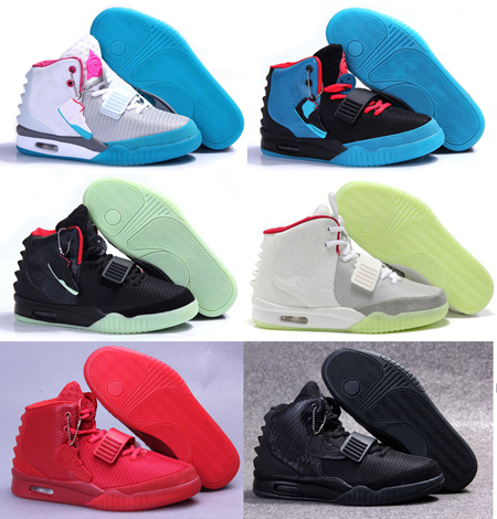 Free Shipping 2015 Red October Womens & Mens Sports Basketball Shoes Kanye West Femme & Homme Trainer Sneakers Size 5.5-11 US(China (Mainland))