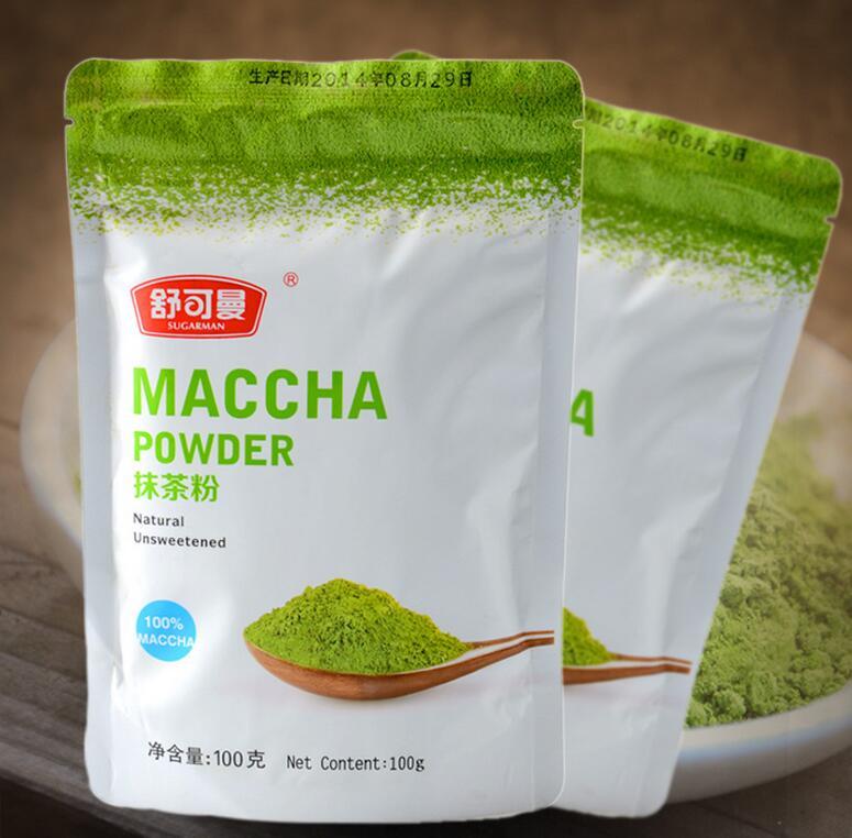 Зелёный чай в порошке что это