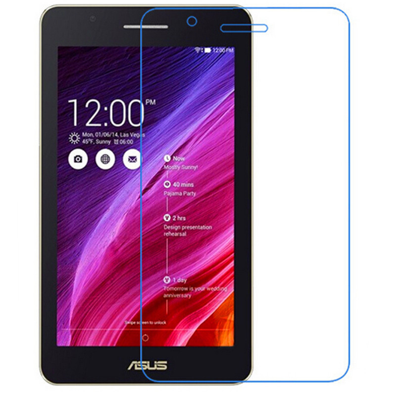 2Pcs 9H Tempered Glass Screen Protector Film for Asus FE171 FE171MG + Alcohol Cloth + Dust Absorber(China (Mainland))