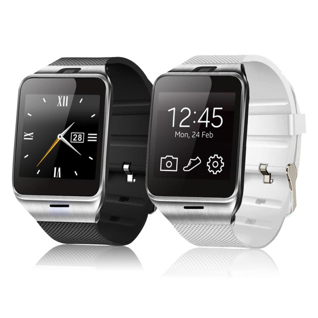 2016 NFC Aplus GV18 Smart Bluetooth Wristwatch with Camera Android Watch Phone SIM Card Smartwatch for iPhone 6/6s Smartphone(China (Mainland))
