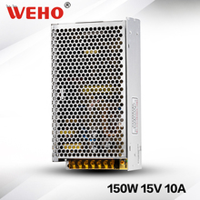 (S-150-15) Industrial power supply ac dc 10A 15V 150w dc power supply(China (Mainland))