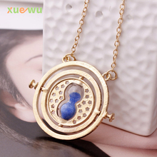 Buy 2017 hot fashion Pendant Necklace Crystal Hourglass time Necklace Jewelry Women Christmas Gift free for $1.32 in AliExpress store
