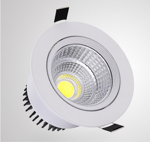 Free shipping Hot sale!!! 10W 15W COB LED Downlight AC85-265V Cool/Warm White CE&ROHS COB LED Spotlight Ceiling(China (Mainland))