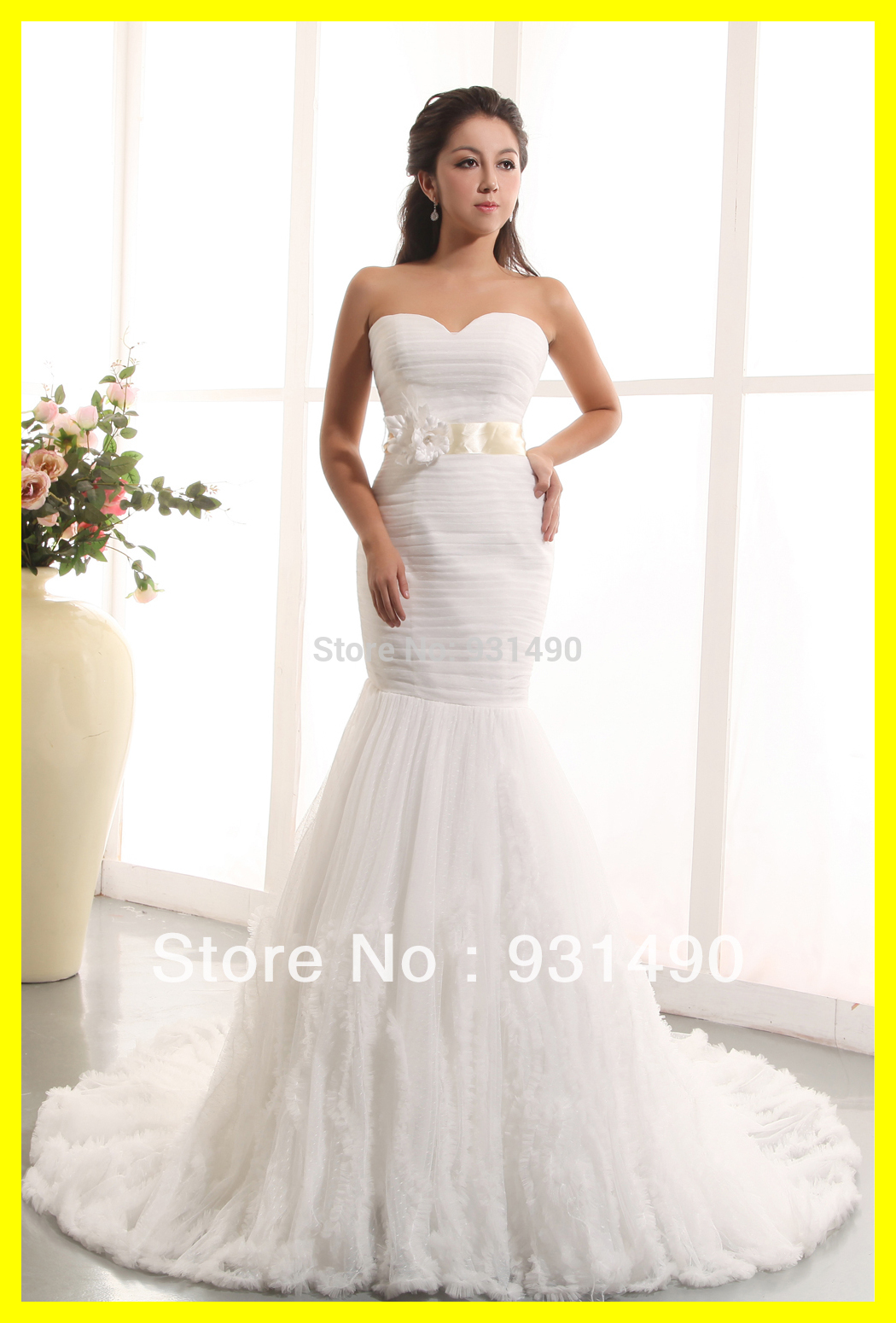 White Gypsy Wedding Dress For Sale 18